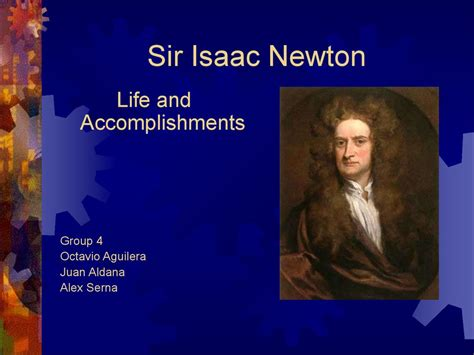 isaac newton biography powerpoint sir isaac newton life and accomplishments презентация