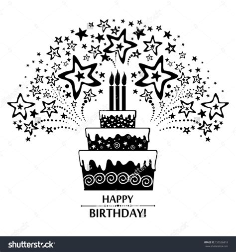 printable birthday cards black and white card invitation design ideas black and white birthday
