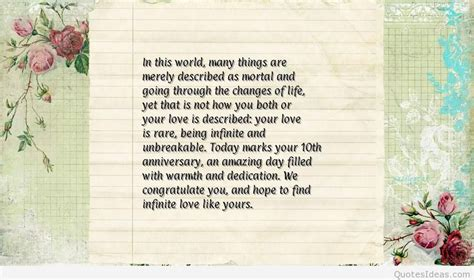 10th Wedding Anniversary Quotes For by Happy 10rd Marriage Anniversary Quotes Wallpapers Hd