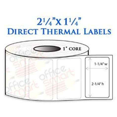 Label Barcode Direct Thermal 60mmx40mm Diskon 2 25x1 25 direct thermal barcode labels for zebra gc420d import it all