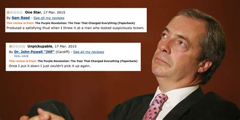wedding nerves quotes the one reviews of nigel farage s book are