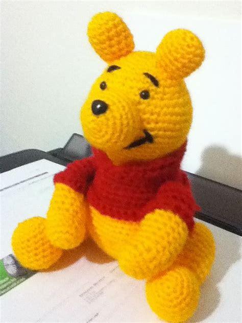 amigurumi pattern winnie the pooh free winnie the pooh amigurumi crochet pattern and