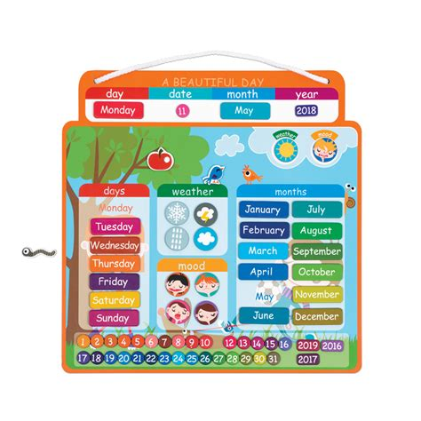 Janod Magnetic Calendar janod magnetic calendar janod store