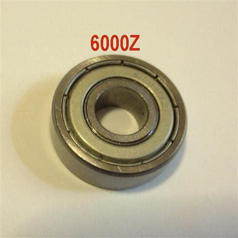 Bearing Laher 6000 Z wheel bearing 6000z 2 pack