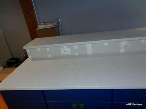 Bianco Carrara Quartz Countertop by Bianco Carrara Chicago Amf Brothers