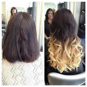 extensions on hair hair extensions before and after picture gallery chicago il