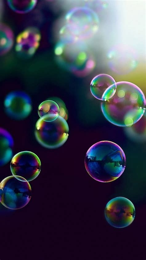 Wallpaper For Iphone 6 Bubbles | colorful bubbles in sunlight wallpaper free iphone