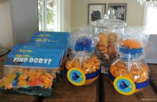 Mason Jar Baby Shower Centerpieces Finding Dory Party Ideas Diy Inspired
