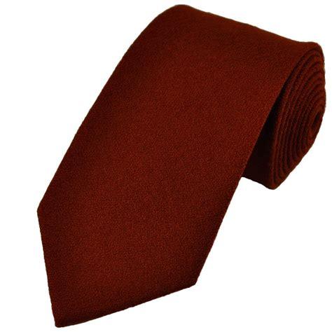 Syari Maroon Brown S 1 plain maroon brown wool tie from ties planet uk
