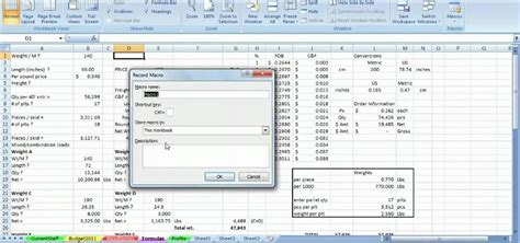 how to record a macro in excel 2007 youtube excel macro how to record custom macros in microsoft excel 2007