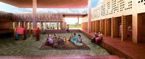 design center varanasi david adjaye unveils striking carbon negative building for