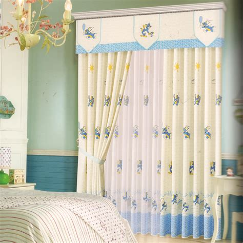Cartoon Patterns Baby Boy Curtains For Nursery No Valance Baby Boy Curtains For Nursery