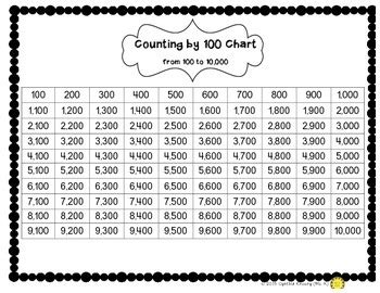 number chart math activitie by ms k teachers pay