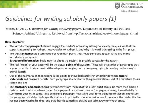 writing a scholarly paper ppt scholarly writing apa writing style powerpoint