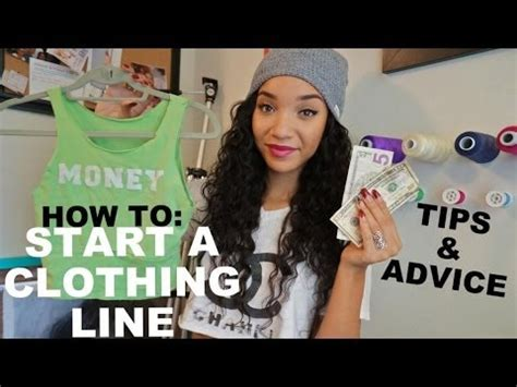 vlog how to start a clothing line