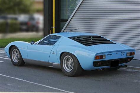 1972 Lamborghini Miura P400 Sv Kidston 1972 Lamborghini Miura P400 Sv