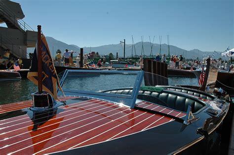 tahoe keys marina lake tahoe guide - Lake Tahoe Wooden Boat Rentals