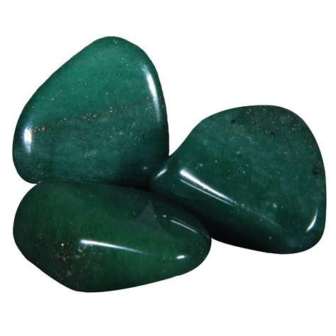 Green Aventurine 1 green aventurine tumbled consciously sourced
