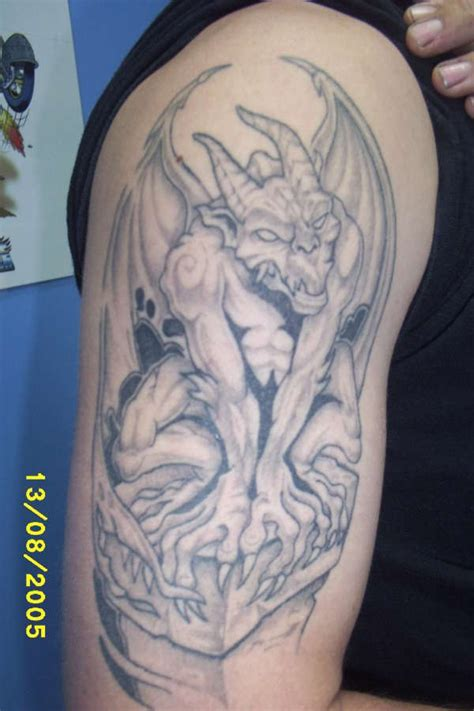 cool gargoyle design teil 3 tattooimages biz