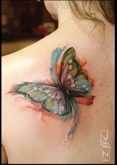 butterfly tattoo extension 195 best water color tattoos images on pinterest
