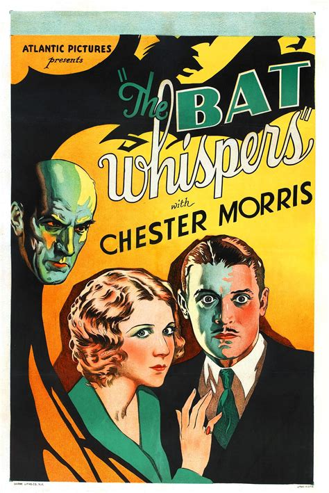 film seri the whispers poster for the bat whispers 1930 usa wrong side of