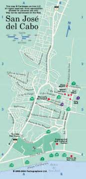 San Jose Del Cabo Map by Cabo Gif Images