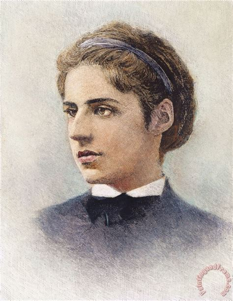 Floral Prints by Others Emma Lazarus 1849 1887 Painting Emma Lazarus