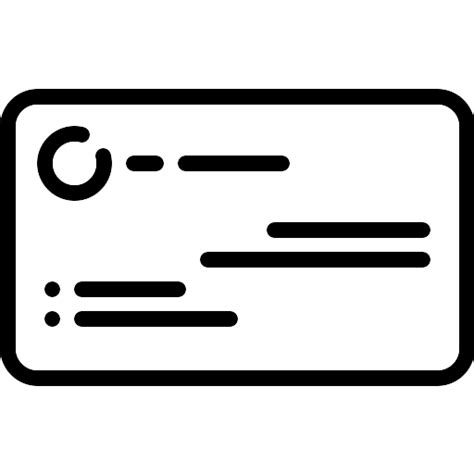 Icon For Business Card