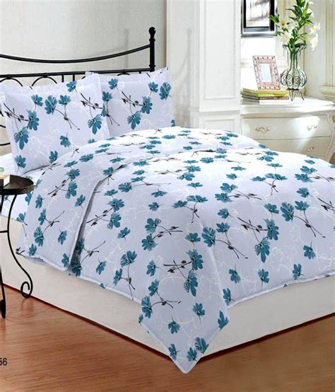 bombay dyeing bed sheets bombay dyeing florentine white floral cotton double bed