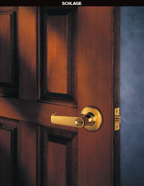 Schlage Door Knob Manual by Schlage Door Door Locks User Guide Manualsonline