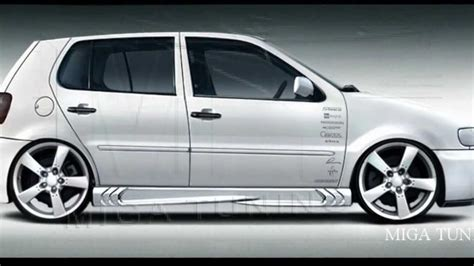 volkswagen polo body vw polo tuning body kit youtube