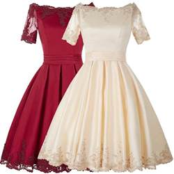 vintage inspired cocktail dress newhairstylesformen2014 new 50 s vintage style prom sleeve cocktail