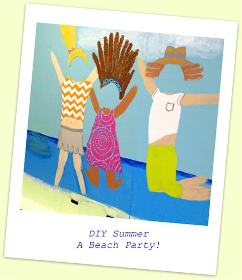 summer birthday party themes homemade summer diy projects beach party decorations diy photo