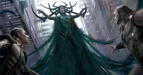 thor ragnarok meet cate blanchett s hela ew com ew reveals first look at thor hela and valkyrie from