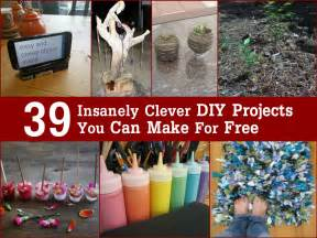 diy free 39 insanely clever diy projects you can make for free
