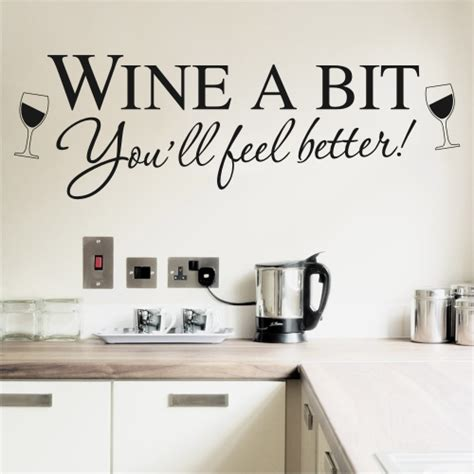 wall transfers stickers articles kitchen wall stickers wine a bit new kitchen