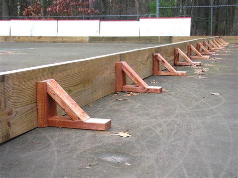 how to make a backyard ice rink how to build a backyard hockey rink