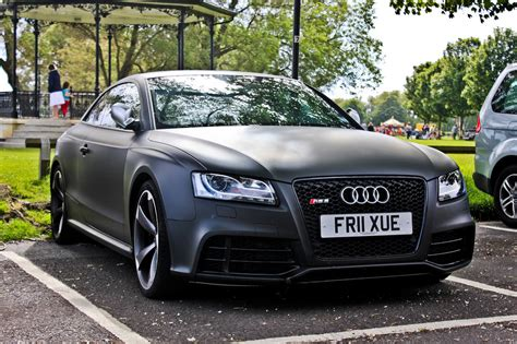 i am audi the audi world matte black audi rs5 ill will