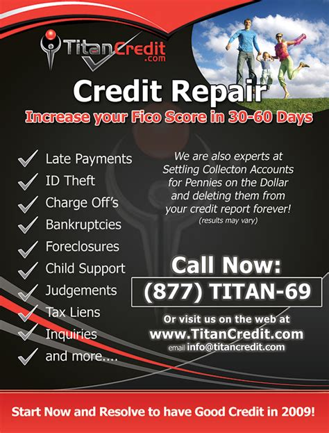 Credit Repair Flyers Baskan Idai Co Credit Repair Flyer Template