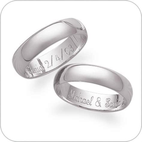 Signet, Engagement & Wedding ring engraving, engraved at