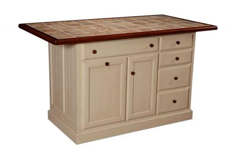 amish furniture kitchen island amish jefferson city kitchen island with five drawers
