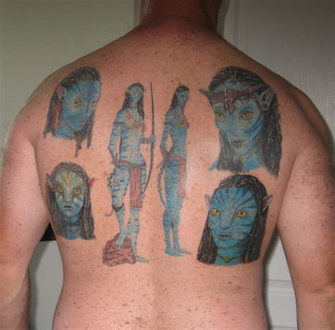 avatar tattoos unstoppable avatar gets 5 geekologie