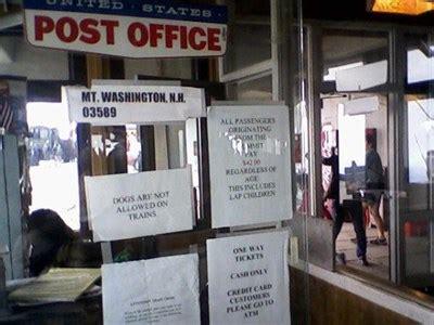 mount washington nh 03589 u s post offices on