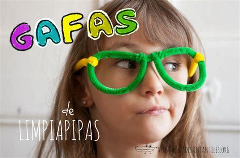 imagenes gafas locas gafas con limpiapipas manualidades infantiles