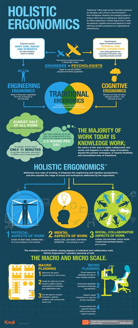 Home Plan Designers holistic ergonomics infographic workplace research