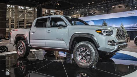 toyota tacoma pickup truck revealed  chicago auto