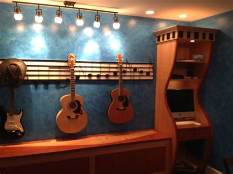 Kitchen Faucets Black guitar storage music room