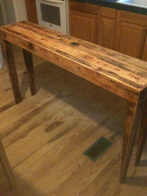 rustic pine sofa table made rustic pine distressed sofa table by robert
