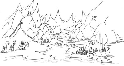 Arctic Coloring Pages free polar region coloring pages