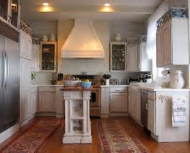 Narrow kitchen island kitchen contemporary with beadboard ceiling